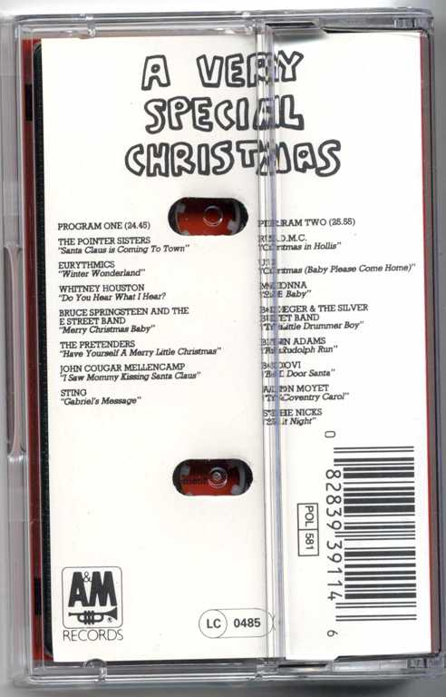 santa baby on a very special christmas germany cassette album